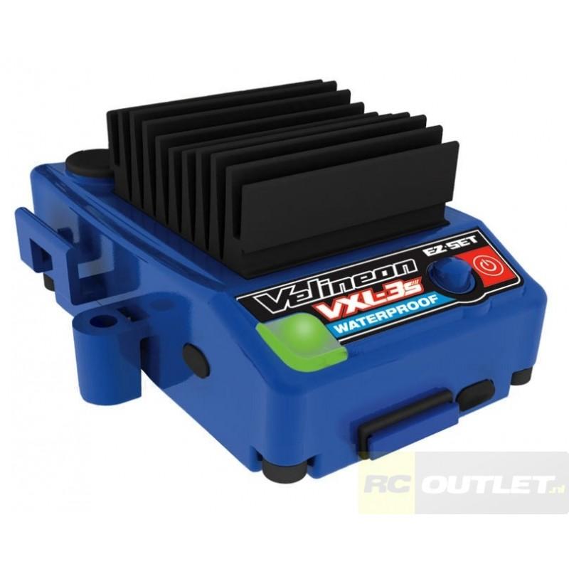 Traxxas rustler vxl brushless red specialist in for Velineon 3500 brushless motor rebuild kit