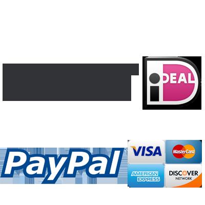 U kunt bij RC Outlet veilig met zowel iDEAL als Paypal betalen.